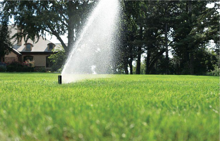 Regen irrigatie tuin